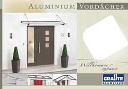 Quante - Aluminium Vordächer