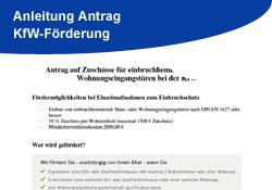 Anleitung KfW-Antrag - Gebrüder Quante Südkirchen