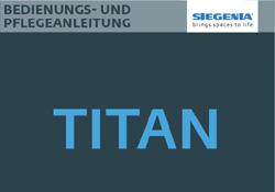 SIEGENIA Pflegeanleitung TITAN - Gebrüder Quante Südkirchen