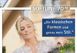 Prospekt SOFTLINE 70 AD - Gebrüder Quante Südkirchen