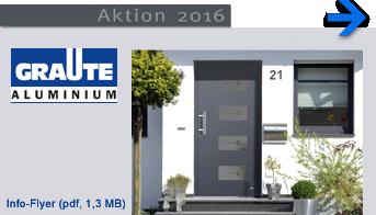 Graute Haustüren Aktion 2016 - Gebr. Quante Südkirchen