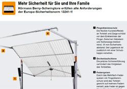 Gebrüder Quante Südkirchen - Sicherheitscheck Schwingtore