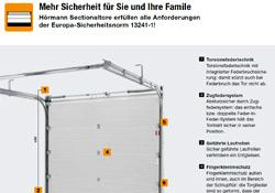 Gebrüder Quante Südkirchen - Sicherheitscheck Sectionaltore