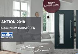 Graute Haustüren Aktion 2018 - Gebr. Quante Südkirchen