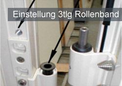 Quante Südkirchen - GRAUTE Einstellung 3tlg Rollenband