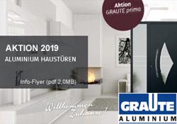 Graute Haustüren Aktion 2019 - Gebr. Quante Südkirchen