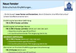 Infoblatt Einbruchschutz - Gebrüder Quante Südkirchen