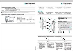 Quante Südkirchen - Simonswerk Montageanleitung SIKU RB 5015