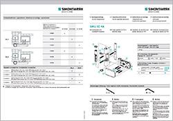 Quante Südkirchen - Simonswerk Montageanleitung SIKU 3D K6160